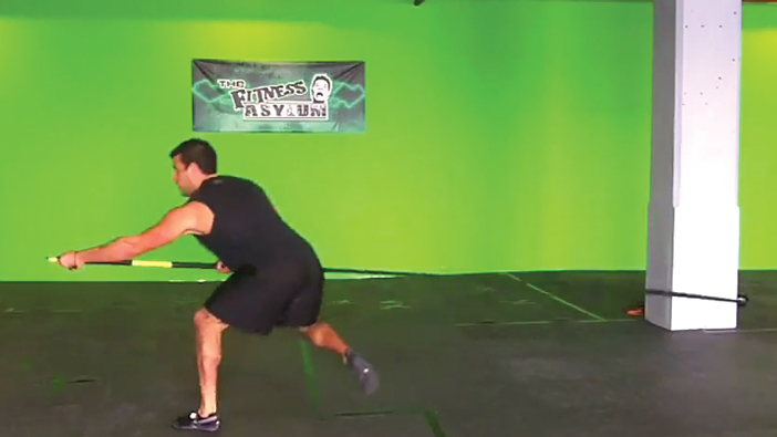 TRX Rip Training: Tabata Workout with BJ Gaddour