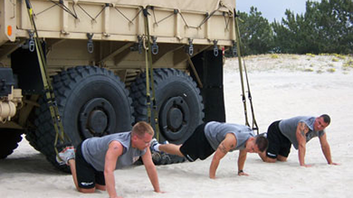 Military Times TRX Workout