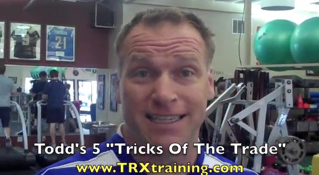 Todd Durkin Shares Top 5 Training Tips