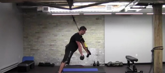 BJ Gaddour's TRX Push/Pull Core Workout