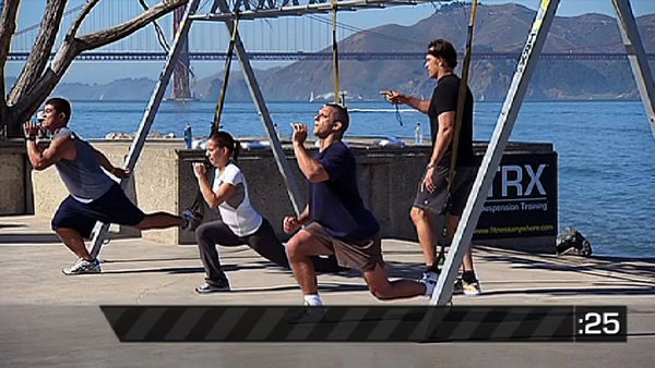 TRX Boot Camp: Ropes + Straps